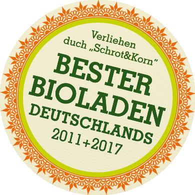 Bester Bioladen Deutschlands 2011 und 2017